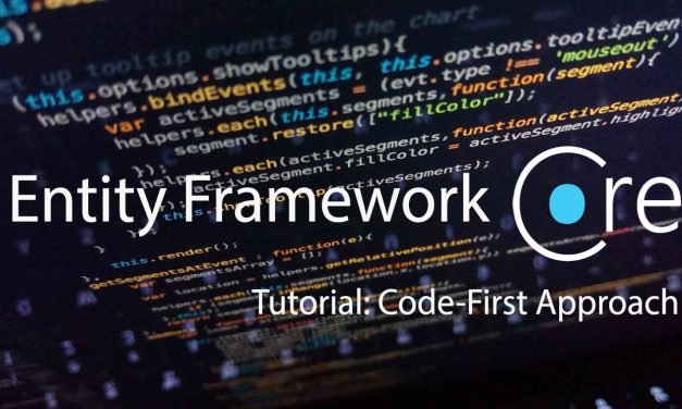 Tutorial: EF Core: Building an ASP.NET MVC Application using the Code-First Approach